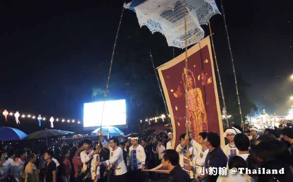 泰國水燈節Loi Krathong攻略Mae Ping River花車大遊行3