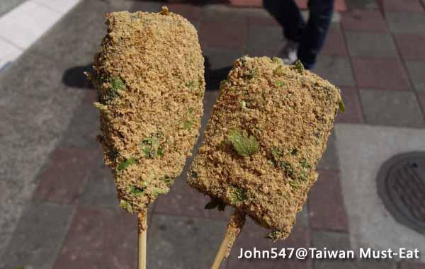 Taiwan Must-Eat-5-Pig Blood Cake 豬血糕