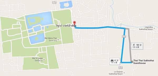 Thai Thai Sukhothai Guesthouse素可泰特色旅館飯店Old City MAP.jpg
