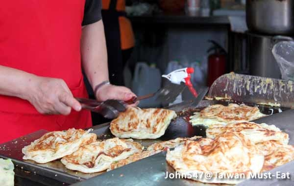 Taiwan Must-Eat,Taiwanese street food-Flaky scallion pancake2