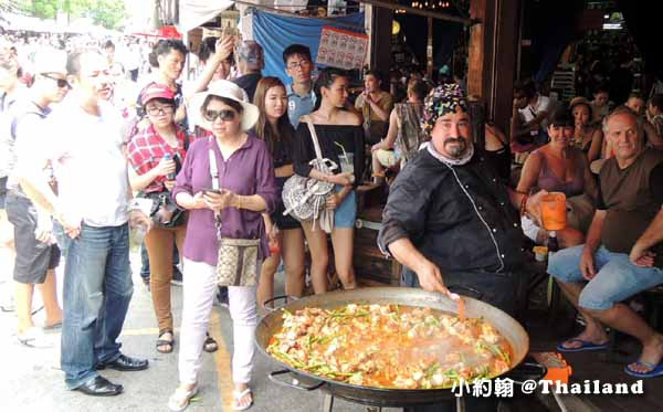 恰圖恰週未市集(Chatuchak weekend market) Viva 8西班牙海鮮飯 (Paella)Section8 Soi16.jpg