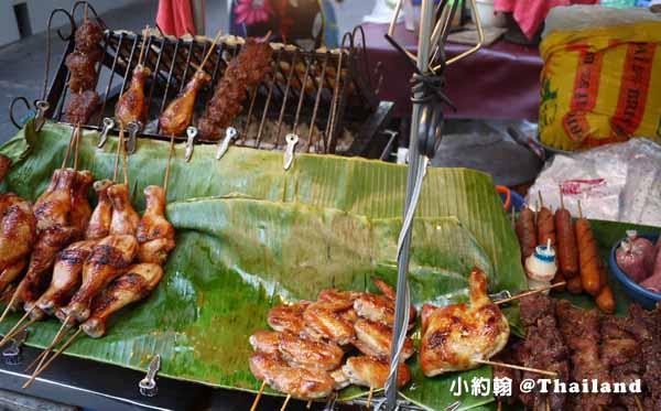 泰國必吃街頭小吃Gai Yang 泰式烤全雞烤雞腿1.jpg