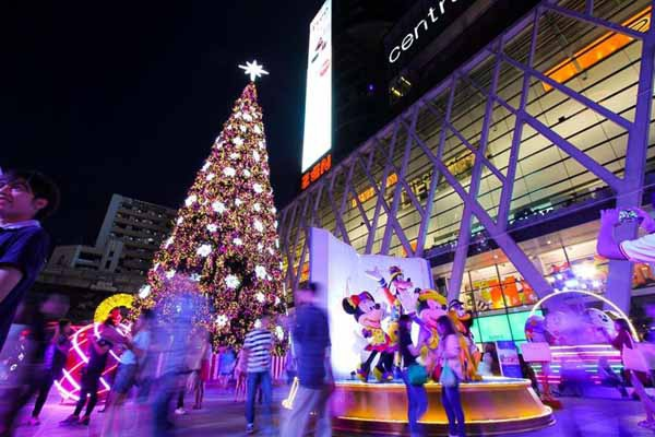 Central World中央世界百貨 christmas town  Disney 1.jpg