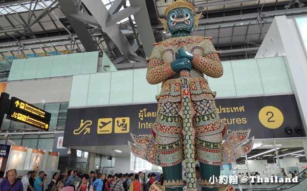 曼谷國際機場 (BKK) Suvarnabhumi airport