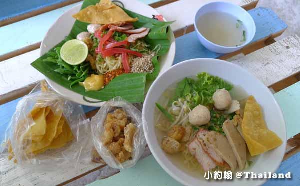 清邁美食推薦D-Ook清新泰式小吃店,米粉湯雞肉飯Wat Ram Poeng 1.jpg