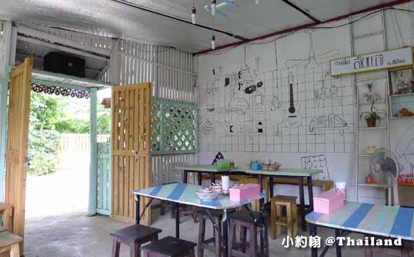 清邁美食推薦D-Ook清新泰式小吃店,米粉湯雞肉飯Wat Ram Poeng 3.jpg