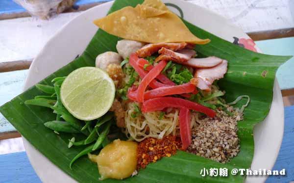 清邁美食推薦D-Ook清新泰式小吃店,米粉湯雞肉飯Wat Ram Poeng 4.jpg