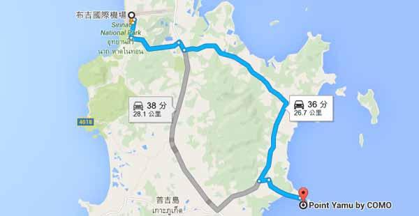 Phuket Map普吉島免費地圖下載X