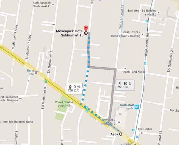 MovenpickHotel Sukhumvit 15 Bangkok瑞士莫凡彼曼谷飯店map.jpg