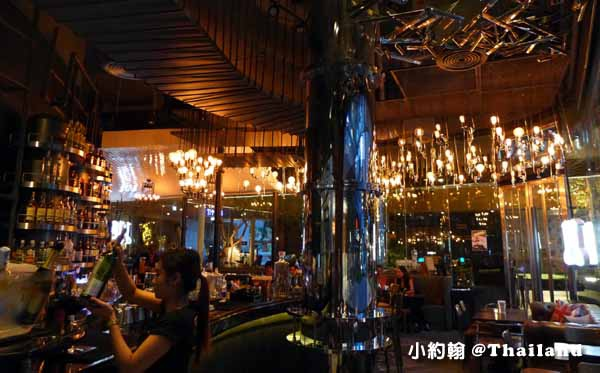 1881 By Water Library Bangkok bar restaurant@Groove Central World1.jpg