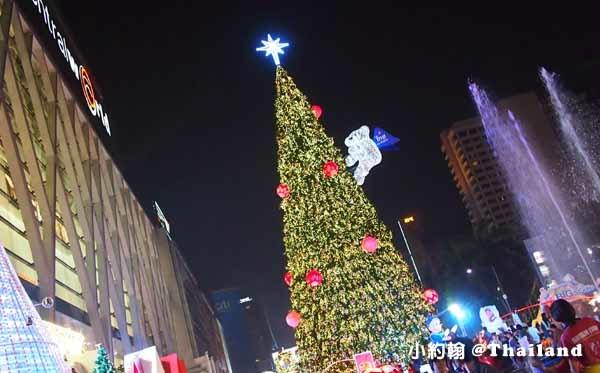 曼谷Central World中央世界百貨城-聖誕節Christmas tree.jpg