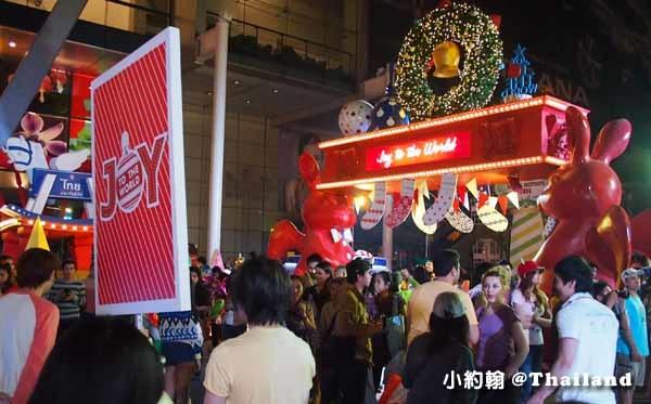 曼谷Central World中央世界百貨城-聖誕節Christmas tree3.jpg
