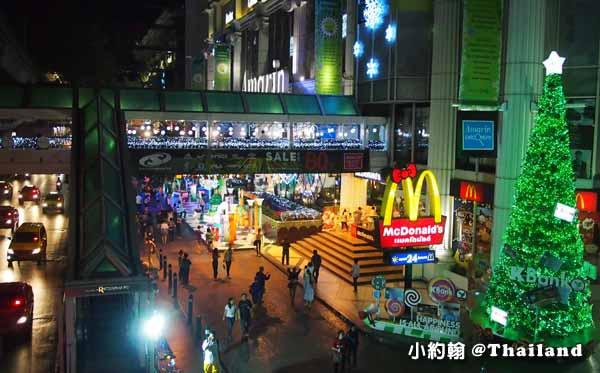 泰國曼谷Amarin Plaza百貨-聖誕節Christmas tree.jpg
