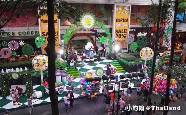 泰國曼谷Amarin Plaza百貨-聖誕節Christmas tree2.jpg