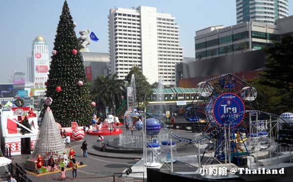 曼谷Central World中央世界百貨城-聖誕節Christmas tree1.jpg