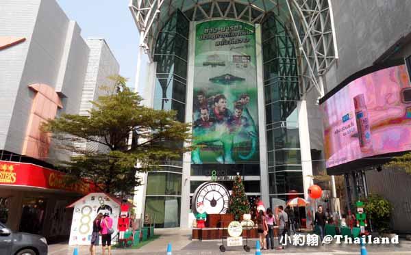 曼谷西門町暹羅廣場Siam Square-聖誕節Christmas tree.jpg