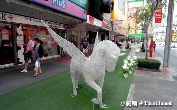 曼谷西門町暹羅廣場Siam Square-聖誕節Christmas tree1.jpg