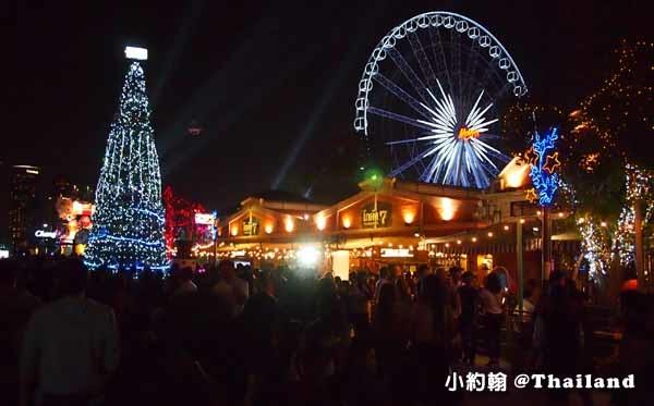 Asiatique 曼谷最美河濱夜市-聖誕節Christmas tree3.jpg