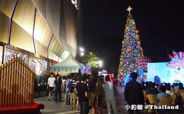 Central Plaza Ladprao百貨-聖誕節Christmas tree2.jpg