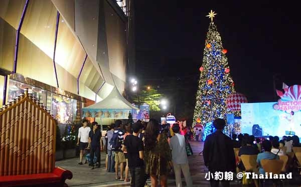 Central Plaza Ladprao百貨-聖誕節Christmas tree2.jpg
