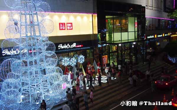 The mall Bangkapi百貨-聖誕節Christmas tree2.jpg