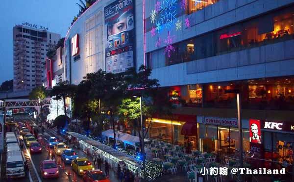 The mall Bangkapi百貨-聖誕節Christmas tree.jpg