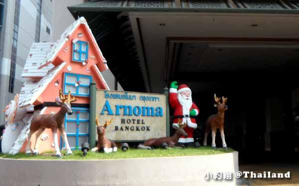 Arnoma Hotel Bangkok曼谷阿諾瑪飯店-聖誕節Christmas tree.jpg