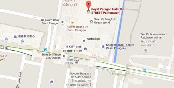張惠妹曼谷演唱會aMEI AMIT UTOPIA烏托邦巡城2016Royal Paragon Hall MAP.jpg