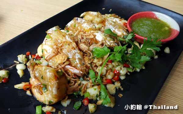 Savoey Thai Restaurant泰國老字號平價海鮮,曼谷泰式料理餐廳 炸蝦.jpg