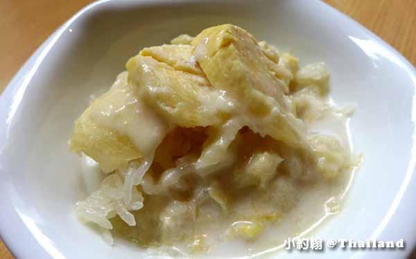 Savoey Thai Restaurant泰國老字號平價海鮮,曼谷泰式料理餐廳榴槤糯米飯.jpg