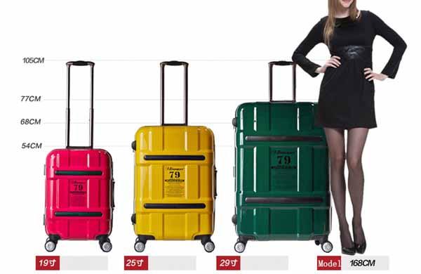 行李箱大小重量,挑選心得,20吋24吋28吋比一比