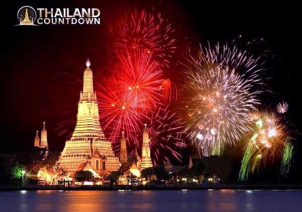 2016Thailand Countdown泰國曼谷跨年新景點Wat Arun鄭王廟