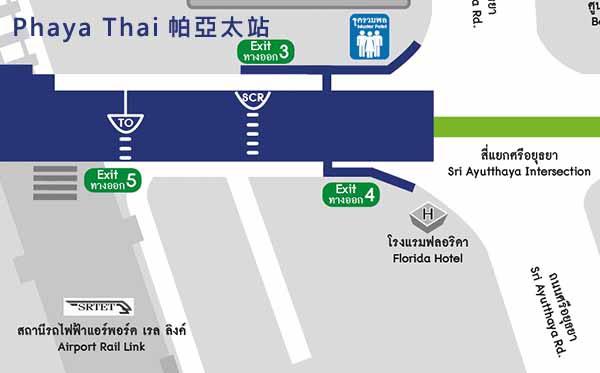 Florida Hotel Bangkok Hotel曼谷富都飯店@BTS Phaya Thai MAP.jpg