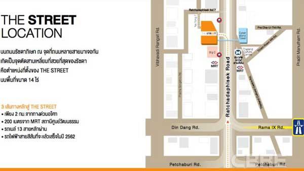 The Street Ratchada曼谷24小時購物百貨商城MAP.JPG