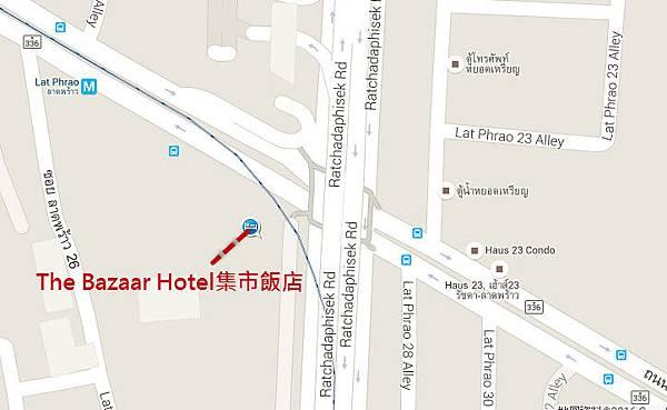 曼谷The Bazaar Hotel集市飯店 map.jpg