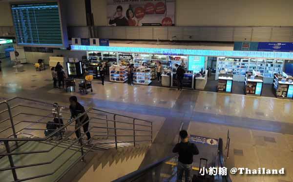 Don Muang Airport曼谷廊曼機場出境入境說明,交通攻略,商店介紹2