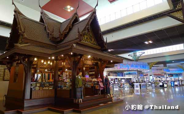 曼谷廊曼機場出境準備飛回灣的流程免稅店.jpg