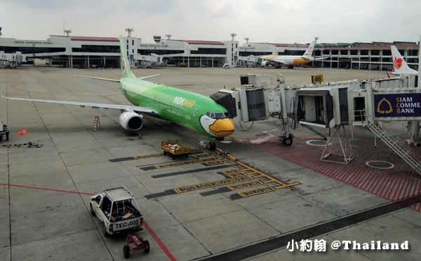 曼谷廊曼機場(DMK)Don Muang Airport轉飛鳥航Nok Air