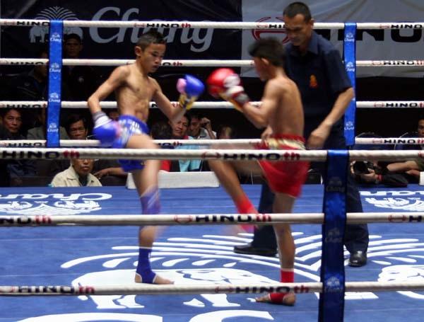 泰國曼谷正宗泰拳比賽Lumpinee Boxing Stadium 1.JPG