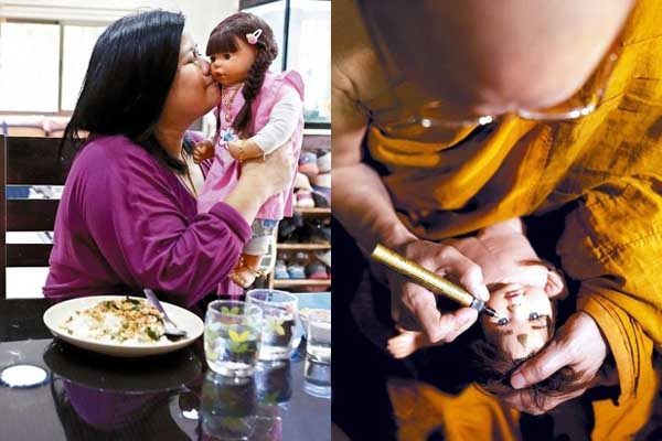 泰國開光供養擬真小天使娃娃
