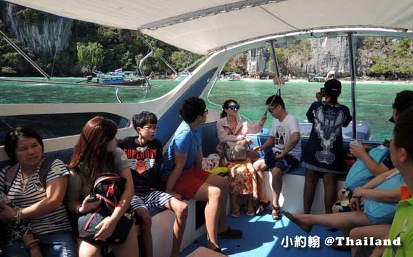 Phi Phi IslandsPP島一日遊speed boat.jpg