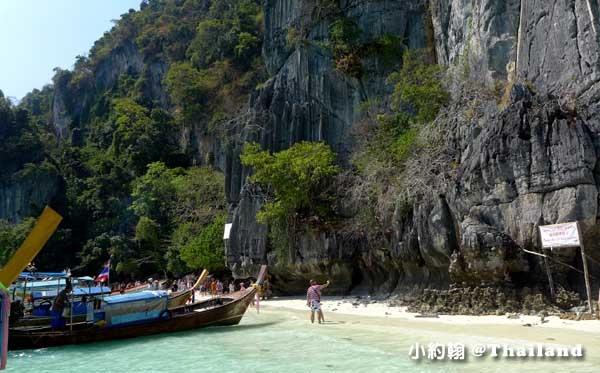 Monkey Beach猴子海灘@Phi Phi Islands.jpg