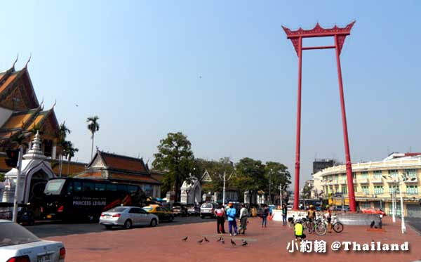 曼谷舊城區大鞦韆(The Giant Swing, Sao Chingcha)
