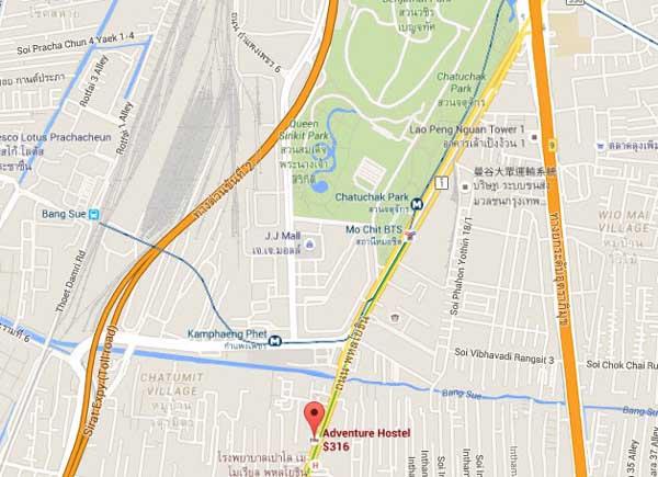 Adventure Hostel曼谷冒險青年旅館map.jpg