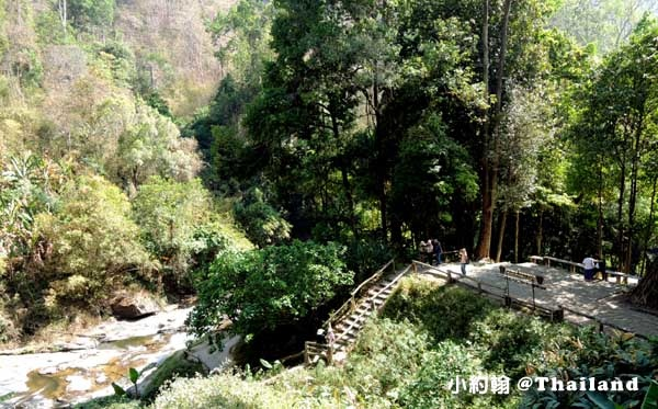 清邁茵他儂國家公園Wachirathan Waterfall4.jpg