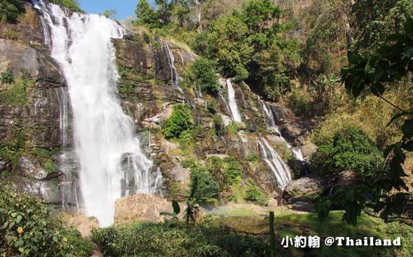 清邁茵他儂國家公園Wachirathan Waterfall2.jpg