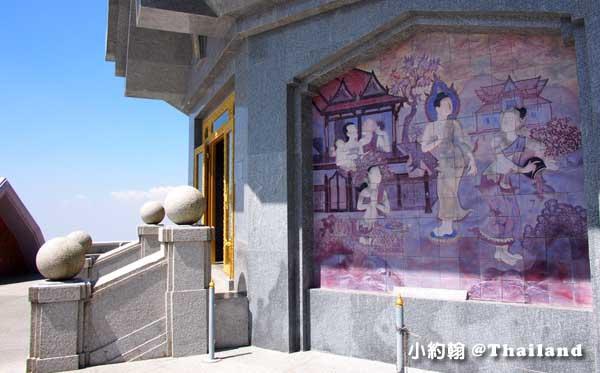 泰后佛塔(Naphapholphumisiri)壁畫