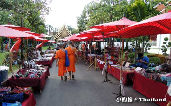 清邁Wat Phra Singh帕辛寺(帕邢寺)蘭納小市集.jpg