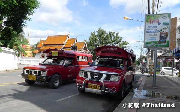 清邁Wat Phra Singh帕辛寺(帕邢寺)雙條車.jpg