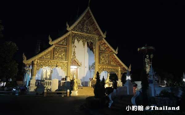 Wat Phra Singh帕邢寺晚上